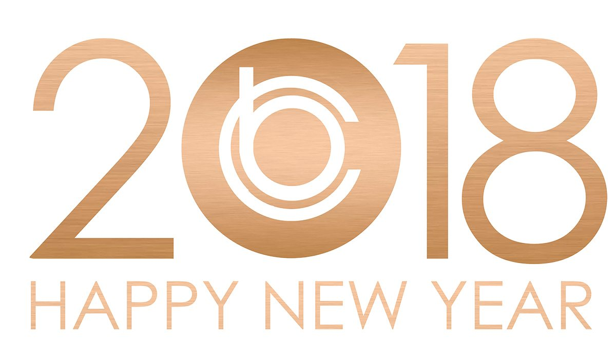 Happy New Year 2018 from team Britto Charette