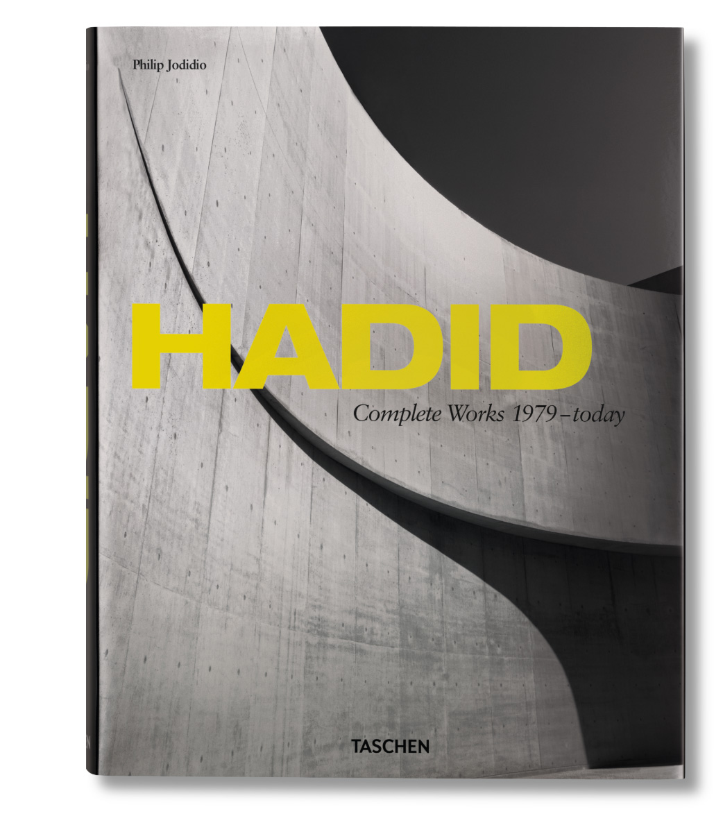 This gorgeous tome highlights the incredible work of our team's favorite architect, Zaha Hadid. Available in hardcover from TASCHEN.