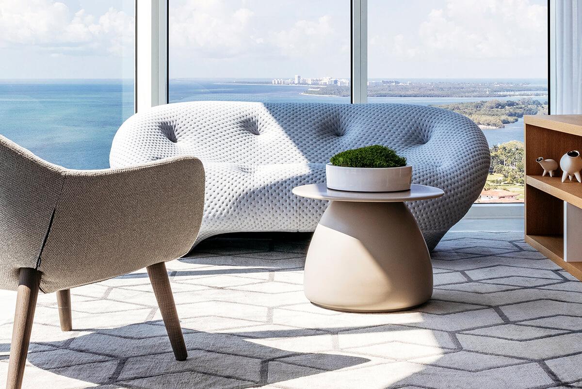 PORTOFINO TOWER by Britto Charette Interior Design