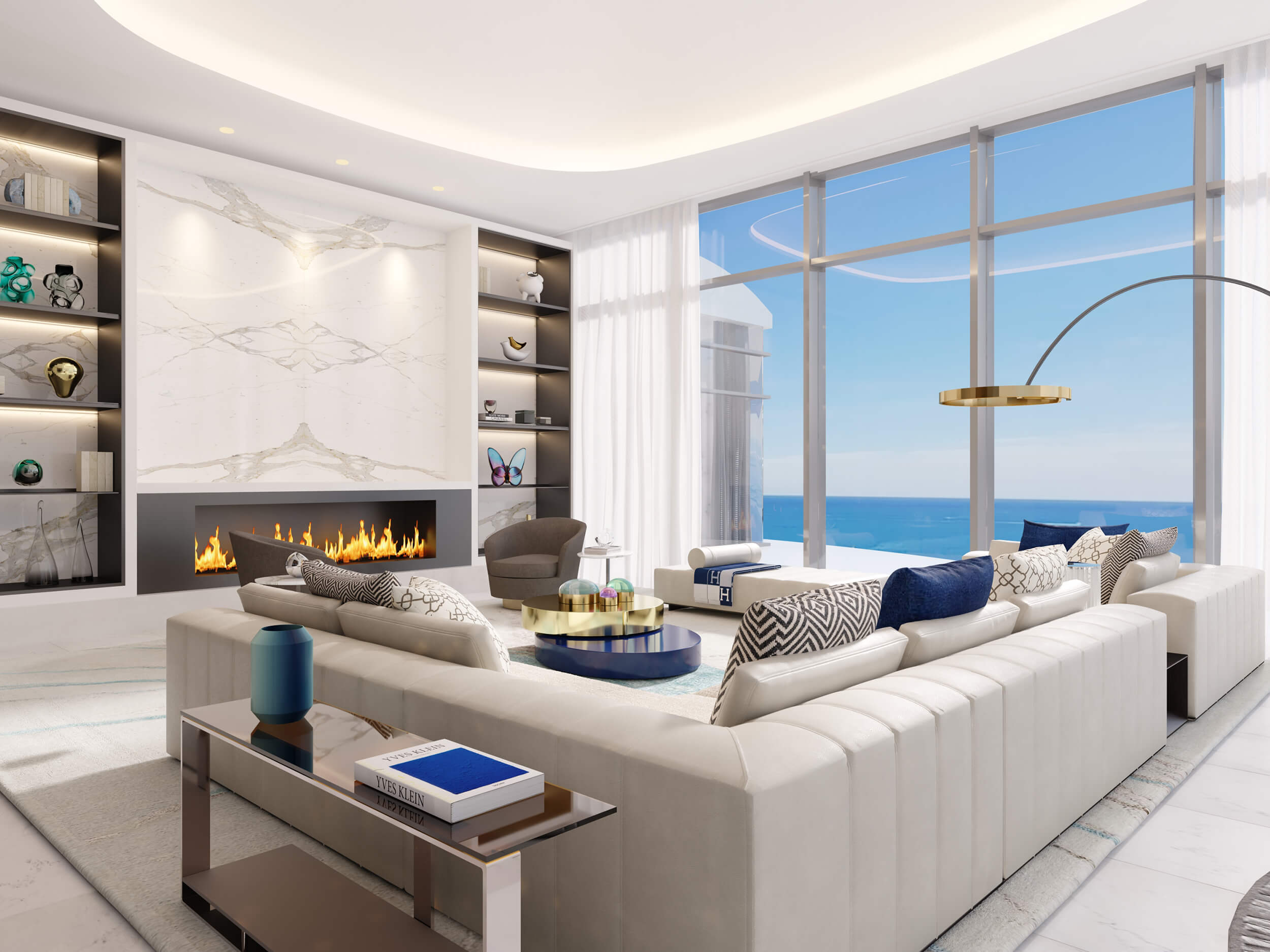 BRITTO CHARETTE HAS DESIGNED A LUXURIOUS PH INTERIOR IN SUNNY ISLES: RITZ CARLTON